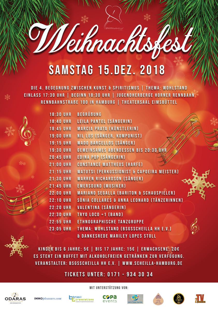 Weihnachtsfest 2018